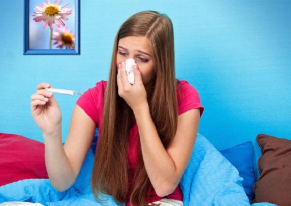 Повышение температуры тела происходит под влиянием эндогенных пирогенов