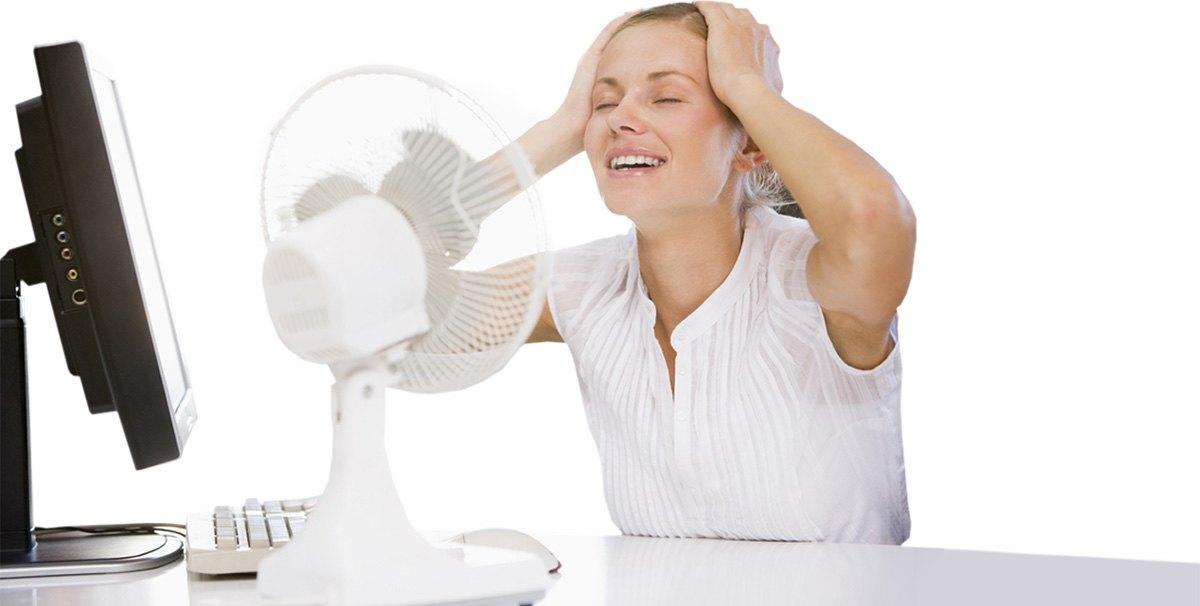 Старайтесь не находиться в жарких помещениях