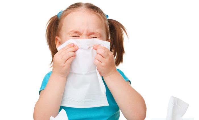 Насморк при пищевой аллергии