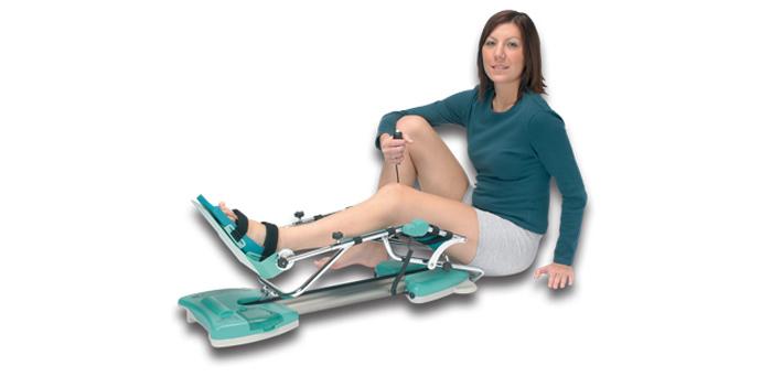 Упражнения на колено