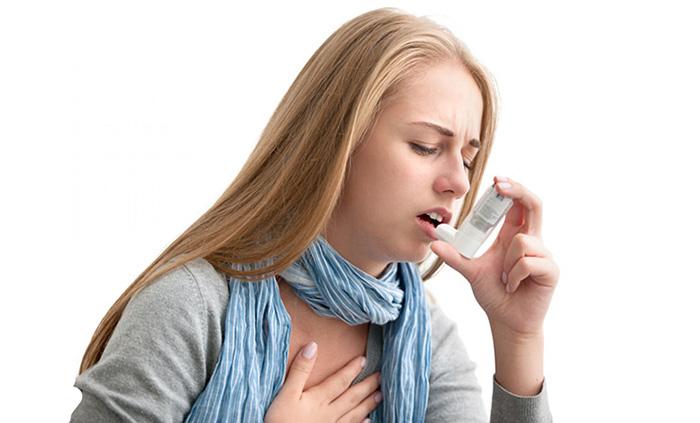 Проявления астмы при пищевой аллергии