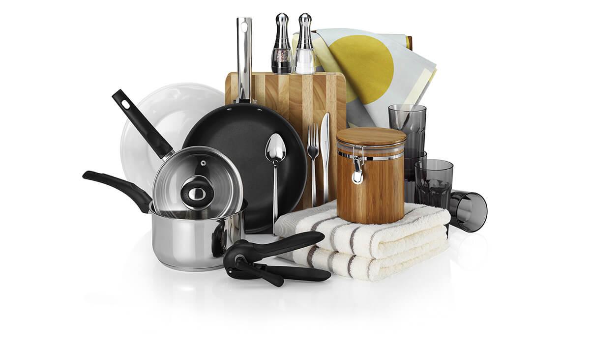 Чистая посуда - одно из самых главных правил приготовления пищи