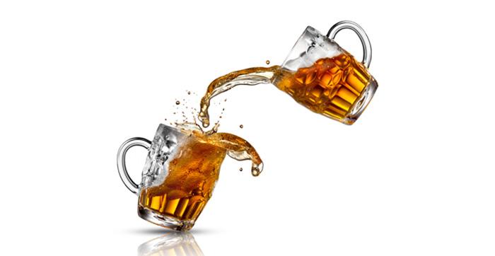 Маска из пива