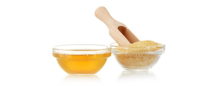 Маска для лица с желатином и глицерином