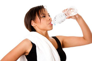 Физические нагрузки и употребление воды