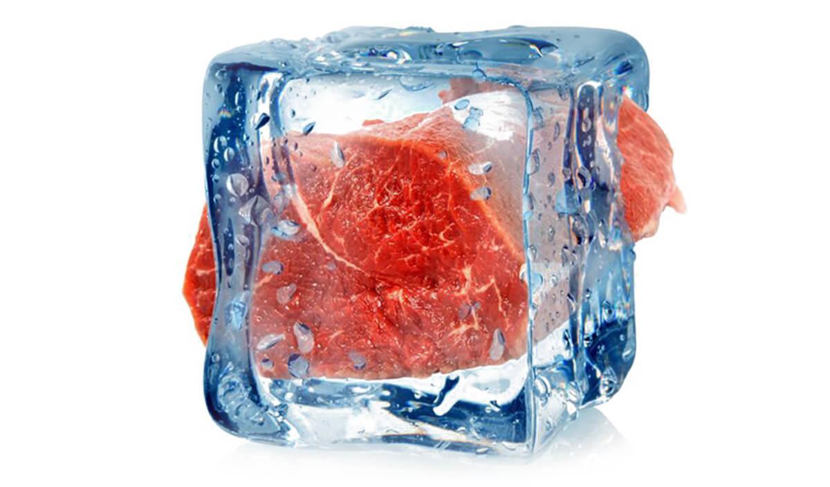 почему мясо размораживать холодной