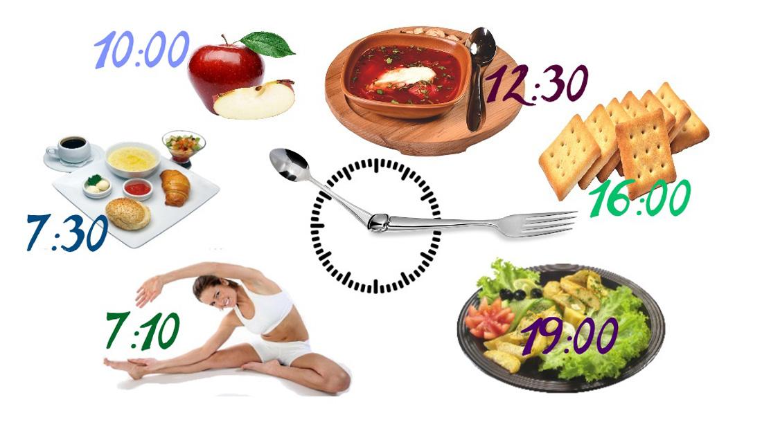 Режим питания человека
