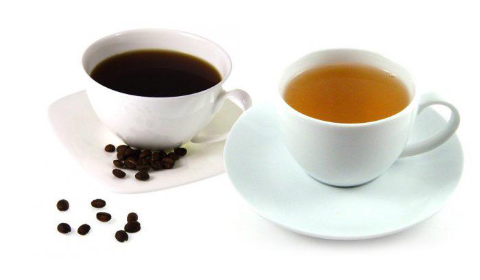 Кофе и крепкий чай перед сном
