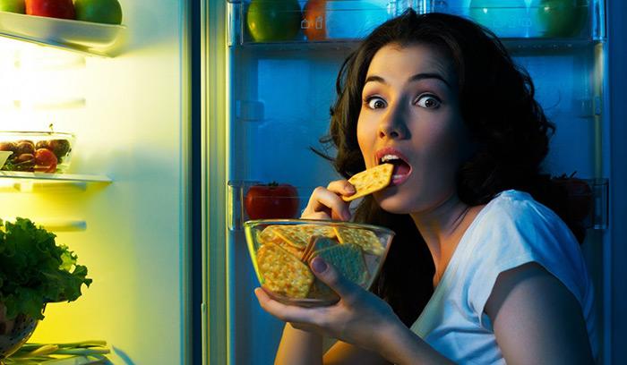 Что делать если не можете отказаться полностью от еды на ночь?