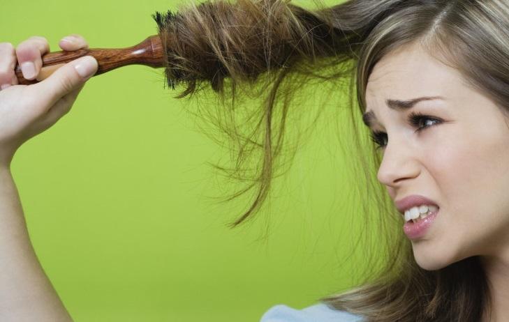 Перекрученные волосы