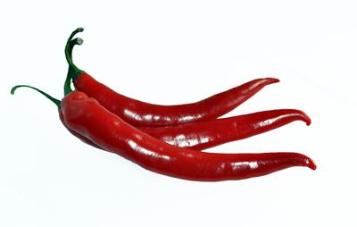 Плод кайенского перца (Capsicum frutescens L.)