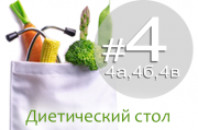 Лечебный стол #4 (4а, 4б, 4в): диета при заболеваниях, сопровождающихся поносом