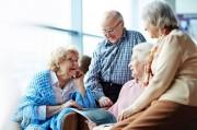Современный дом для престарелых негосударственного