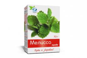Чай «Мелисса с витамином С Вертекс»
