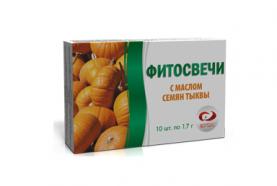 Фитосвечи с маслом семян тыквы