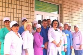 Коллектив сателлитного отделения амбулаторного гемодиализа