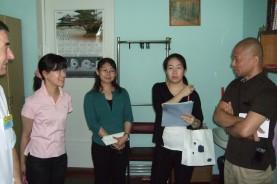 Японская делегация знакомится с работой ОМДЦ