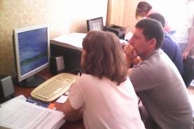 Работа компьютерного класса