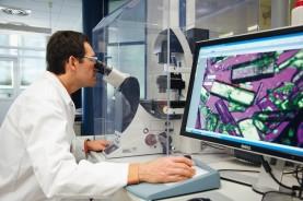 Исследование кристаллической структуры новых активных веществ под микроскопом в поляризованном свете