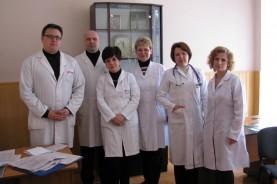Коллектив отделения гематологии