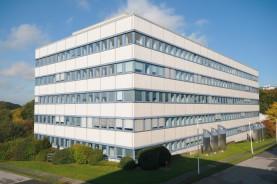 Научно-исследовательский центр Bayer HealthCare по адресу Вупперталь, Германия