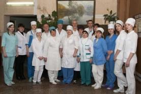 Коллектив отделения хронического гемодиализа