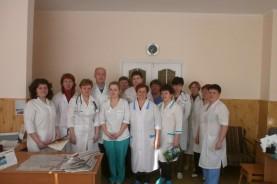 Коллектив кардиологического отделения