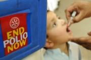 В Украину прибыли прививки против полиомиелита